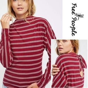 Free People • Ardmore Cotton Striped Tee